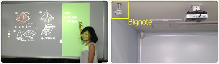 Thiết bị bảng tương tác thông minh Bignote