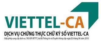Chứng thư số Viettel - CA